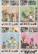Nederland NL 1316#1319  1984 Striptekeningen  cent  Gestempeld