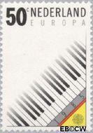 Nederland NL 1333  1985 C.E.P.T.- Europees Jaar van de Muziek 50 cent  Gestempeld