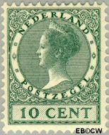 Nederland NL 136  1924 Koningin Wilhelmina- Type 'Veth' 10 cent  Gestempeld