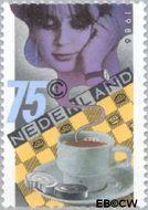 Nederland NL 1360  1986 Kon. Nederlandse Dambond 75 cent  Gestempeld