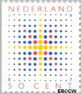 Nederland NL 1392  1987 Fonkelende ster 50 cent  Gestempeld