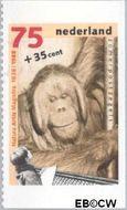 Nederland NL 1402c  1988 Dieren 75+35 cent  Gestempeld