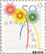 Nederland NL 1419  1988 Kortingzegels 50 cent  Gestempeld