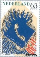 Nederland NL 1456#  1990 Invoering alarmnummer  cent  Gestempeld