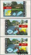 Nederland NL 1471a#1471c  1991 Boerderijen  cent  Postfris