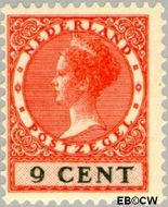 Nederland NL 152  1926 Koningin Wilhelmina- Type 'Veth' 9 cent  Gestempeld