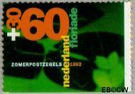 Nederland NL 1524a  1992 Floriade 60+30 cent  Gestempeld