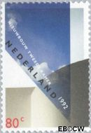 Nederland NL 1526  1992 Opening nieuwbouw Tweede Kamer 80 cent  Postfris