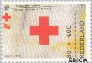 Nederland NL 1534  1992 Rode Kruis 80+40 cent  Gestempeld