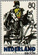 Nederland NL 1549  1993 Korps Rijdende Artillerie 80 cent  Gestempeld