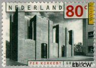 Nederland NL 1566  1993 C.E.P.T.- Hedendaagse kunst 80 cent  Postfris
