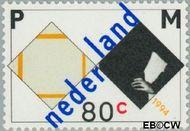 Nederland NL 1596  1994 Mondriaan, Piet 80 cent  Postfris