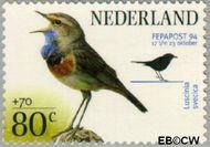 Nederland NL 1599  1994 Postzegeltentoonstelling Fepapost 80+70 cent  Gestempeld