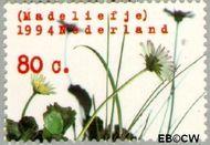 Nederland NL 1602  1994 Natuur en milieu 80 cent  Gestempeld