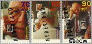 Nederland NL 1608#1610  1994 Ouderen en telefooncirkel  cent  Gestempeld