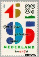 Nederland NL 1644  1995 Bevrijding 80 cent  Gestempeld