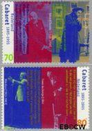 Nederland NL 1656#1657  1995 Cabaret  cent  Gestempeld