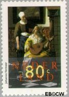 Nederland NL 1665  1996 Vermeer, Johannes 80 cent  Gestempeld