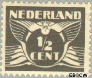 Nederland NL 169  1928 Vliegende Duif ½ cent  Gestempeld