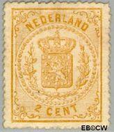 Nederland NL 17  1869 Rijkswapen 2 cent  Gestempeld