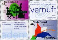 Nederland NL 1729#1732  1997 Jubilea  cent  Gestempeld