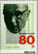 Nederland NL 1771  1998 Vestdijk, S. 80 cent  Postfris