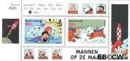 Nederland NL 1839  1999 Strippostzegels- Kuifje  cent  Gestempeld