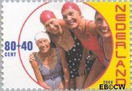 Nederland NL 1890  2000 Ouderen 80+40 cent  Gestempeld