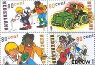 Nederland NL 1919#1922  2000 Strippostzegels- Sjors en Sjimmie  cent  Gestempeld