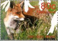 Nederland NL 1954  2001 Vijf keer hart voor de natuur 80 cent  Gestempeld