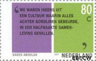 Nederland NL 1963  2001 Tussen twee culturen 80 cent  Gestempeld