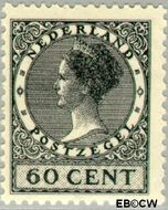 Nederland NL 198  1929 Koningin Wilhelmina- Type 'Veth' 60 cent  Gestempeld