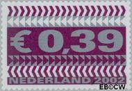 Nederland NL 2044  2002 Zakenzegels 39 cent  Gestempeld
