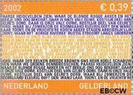Nederland NL 2068  2002 Provincie- zegel Gelderland 39 cent  Gestempeld
