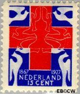 Nederland NL 207  1927 Rode Kruis 15+5 cent  Gestempeld
