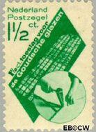 Nederland NL 238  1931 Goudse Glazen 1½+1½ cent  Gestempeld