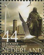 Nederland NL 2495a#  2007 Mooi Nederland- Vlissingen  cent  Gestempeld