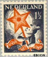 Nederland NL 261  1933 Drie-koningenfeest 1½+1½ cent  Gestempeld