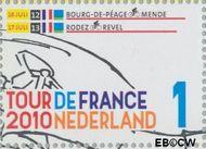 Nederland NL 2720  2010 Tour de France 1 cent  Gestempeld