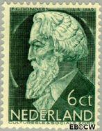 Nederland NL 276  1935 Bekende personen 6+4 cent  Gestempeld
