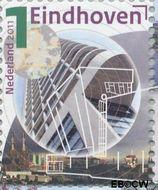 Nederland NL 2790a#  2011 Mooi Nederland- Eindhoven  cent  Gestempeld