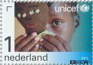 Nederland NL 2823  2011 UNICEF 65 jaar 1 cent  Gestempeld