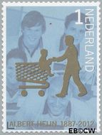 Nederland NL 2908  2012 Albert Heijn 125 jaar 1 cent  Gestempeld