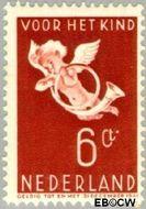 Nederland NL 291  1936 Bazuinengel 6+4 cent  Gestempeld