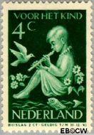 Nederland NL 315  1938 Kind en muziek 4+2 cent  Gestempeld