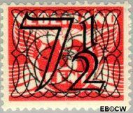 Nederland NL 358  1940 Cijfer type 'Guilloche' of ' tralie' 7½ cent  Gestempeld