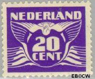 Nederland NL 386  1941 Vliegende Duif 20 cent  Gestempeld