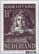 Nederland NL 397  1941 Schilderij Rembrandt 1½+1½ cent  Postfris