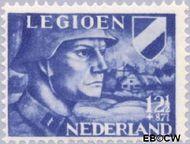 Nederland NL 403  1942 Voorzieningsfonds Nederlands legioen 12½+87½ cent  Gestempeld