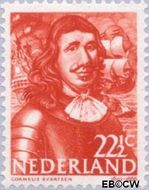 Nederland NL 418  1943 Zeehelden 22½ cent  Gestempeld